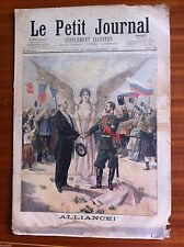 ?Le petit Journal 12/09/1897; Alliance/ La chambre de commerce de Dunkerque