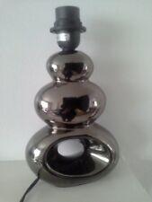 Lampada in ceramica Shade base/supporto tavolo da comodino da tavolo Moderno Illuminazione metallica Decor