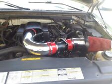 BCP RED 2001 2002 2003 F150/Expedition 4.6/5.4L V8 Heat Shield Cold Air Intake