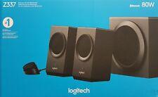 Logitech Z337 2.1 Bluetooth Lautsprechersystem mit Subwoofer, 80 Watt - Neu OVP