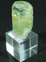 A Big! 100% Natural Terminated HELIODOR Beryl Crystal From Brazil 18.7
