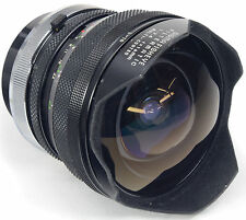 Canon FD SIGMA 16mm 2.8 Fisheye filtermatic