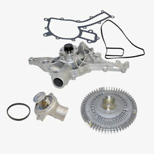Mercedes E420 E430 ML430 SL500 E55 Water Pump Fan Clutch Thermostat Kit OEM 3pcs