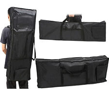 Protable 61 Key Piano Keyboard Case Bag Padded Electric Music Carry Oxford Cloth