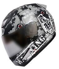 THH - Full Face Helmet - TS 41 - Grey Destroy