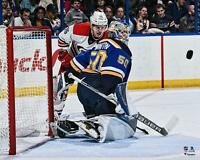 "Jordan Binnington St. Louis Blues Unsigned NHL Debut 16"" x 20"" Photo - Fanatics"