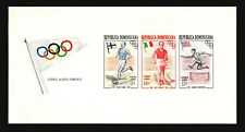 Dominican Republic 1957 Air Olympic Sheets Mint Light Hinge - Z17593