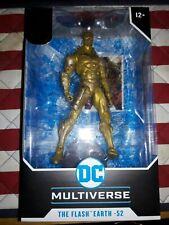 McFarlane Toys DC Multiverse  Flash Earth-52 Gold Label HTF