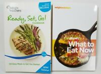 Lot of 2 Weight Watchers Cookbooks What to Eat Now & Ready, Set, Go!