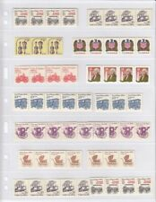 Lighthouse Vario 7C Stamp Stock Pages 7 Rows Pack of 5 Clear Free Us Shipping