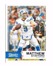 Matthew Stafford 2016 Panini Classics, Football Card !!