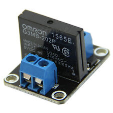 5V 1 Channel Solid-State Relay 2A module Low Level 240V for arduino Brand New