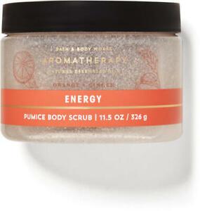 Bath & Body Works Aromatherapy ENERGY Pumice Body Scrub 11.5 oz 326 g