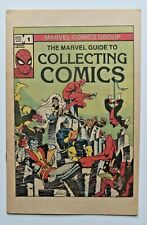 Marvel Comics Special Bonus 1982 The Marvel Guide To Collecting Comics #1 ~ VF