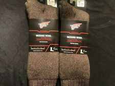 2 Pairs Of Redwing Extreme Cold Merino Wool Socks Large