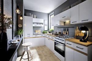 L-Form Küche erweiterbar in 4 Farbkombinationen erhältlich ! Neu und schnell!