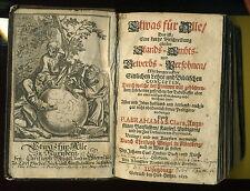 1699 - ETWAS FÜR ALLE mit Kupfern vermengt CHRISTOPH WEIGEL Nürnberg Hiob Herz