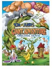 Tom and Jerry's Giant Adventure DVD, 2013 Original Movie NEW with Sleeve