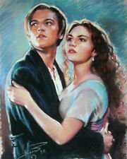 Titanic, Rose and Jack, giclee print on canvas by Star
