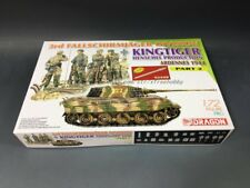 DRAGON 7362 1/72 3rd Fallschirmjager Division + Kingtiger Henschel Production (B