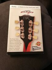 Gibson Stinger Series Brochure Card Case Candy