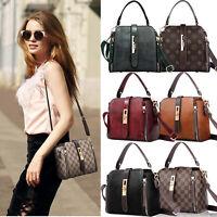 Lady Designer Handbags Casual Shoulder Bucket Bag Small Belt Crossbody Purse US