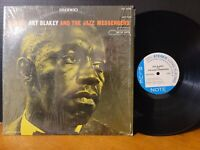 ART BLAKEY - MOANIN Lee Morgan Bobby Timmons Benny Golson Blue Note Vinyl VG+!!