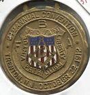 1912 Masonic - 21st Annual Convention Souvenir Medal Trenton, NJ - Lot # EC 3199