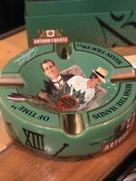 Arturo Fuente Story Ceramic Ashtray Journey Through Time Opus X Rare GREEN