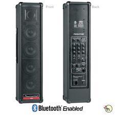Powerwerks150W PA Monitor DJ System Digital Effects Bluetooth Tower Speaker