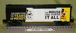 Lionel 23052 Disney Mickey Mouse 90th Celebration Boxcar O/027 ga. 2018