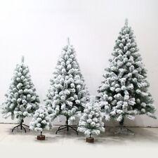 Artificial Christmas Tree Pine White Big Nordic Flocking 2021 New Year Decoratio