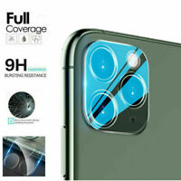 For iPhone 11 /11 Pro Max FULL COVER Tempered Glass Camera Lens Screen Protector