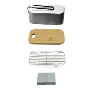 Aluminum Lunch  Portable Snack Food Box Camping Bento Box 800ml Z6W5