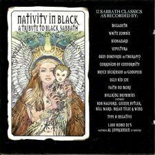 Nativity in Black: A Tribute to Black Sabbath CD 1994 Columbia CK 66335 Vintage