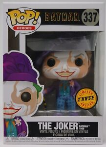 Funko Pop Heroes: Batman - The Joker Batman 1989 Chase Limited Edition #47709