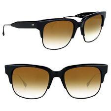 DITA TRAVELLER Sunglasses 19014B BROWN GOLD Flash lens / Black New Authentic