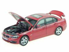 BMW F30 3er sedan melbourne red diecast model car 1/43