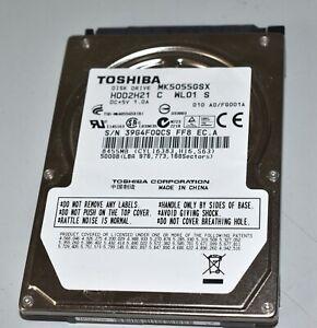 500 GB Toshiba MK5055GSX 2,5 Zoll Notebook - Festplatte
