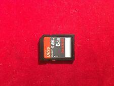 SanDisk 8GB Ultra 30MB/s SDHC I Flash Memory SD Card