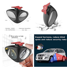 2 in1 360° Wide Angle Convex Rear Side View Blind Spot Mirror for Car Truck SUV