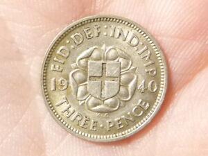 1940 Threepence 3d George VI   #M57