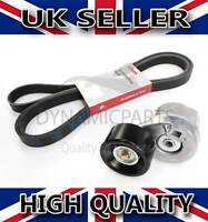 FAN DRIVE BELT AND TENSIONER FOR FORD TRANSIT MK6 2.4 1099892 1096484