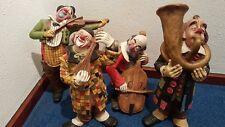 CLOWNS aus Achatit , Musiker Quartett aus einer renomierten Werkstatt