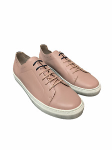 Ted Baker London Men's Shoes Nowull Leather Brogued Sneaker Pink Size US13M EU46