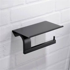 Toilet Bathroom Wall Mounted Roll Paper Box Tissue Phone Holder Storage AU