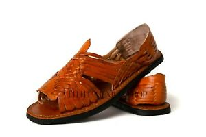 Women's Mexican Sandals Huaraches Classic Chedron Color