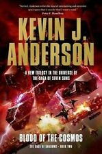 BLOOD OF THE COSMOS - Kevin J Anderson (Hardback, 2015, Free Postage)