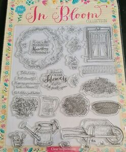 The In Bloom Collection Clear Stamps