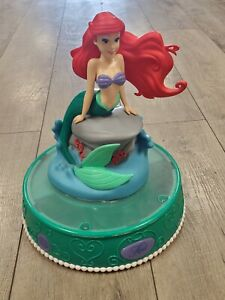 Ariel Light Up & Singing Bank with New Batteries ~ 2014 Peachtree Playthings